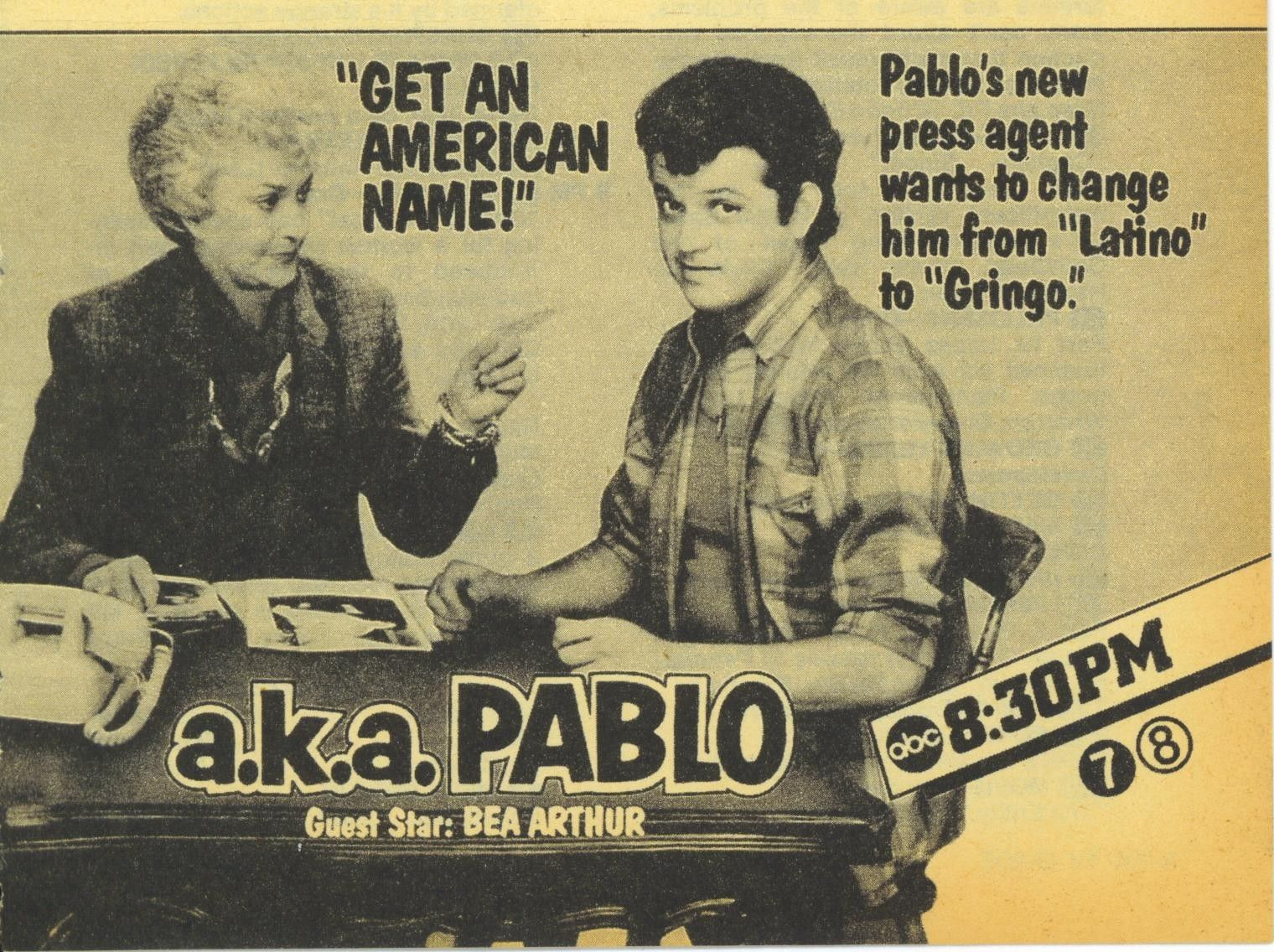 9acf573418b14 a.k.a. Pablo (TV Series 1984) - IMDb