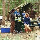 Ami Dolenz, Seth Green, and Virginya Keehne in Ticks (1993)