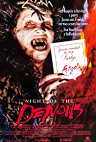 Night of the Demons (1988) Poster - Movie Forum, Cast, Reviews