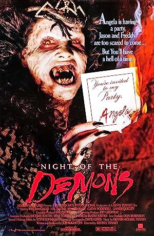 Movie Night of the Demons (1988)