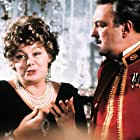 Shelley Winters and Donald Sinden in That Lucky Touch (1975)