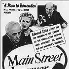 Edward Ellis, Harold Huber, Anita Louise, and Ferris Taylor in Main Street Lawyer (1939)