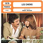 Gérard Depardieu, Nicole Calfan, and Victor Lanoux in Les chiens (1979)