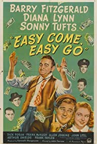 Barry Fitzgerald, Dick Foran, Allen Jenkins, John Litel, Diana Lynn, Frank McHugh, and Sonny Tufts in Easy Come, Easy Go (1947)