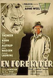 En forbryder Poster