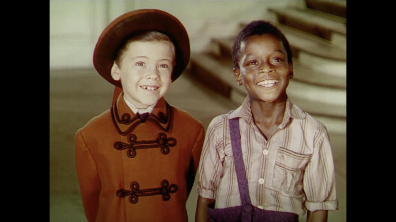 Bobby Driscoll and Glenn Leedy in Song of the South (1946)