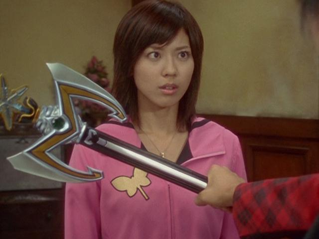 Ayumi Beppu in Mahou sentai Magirenjâ (2005)
