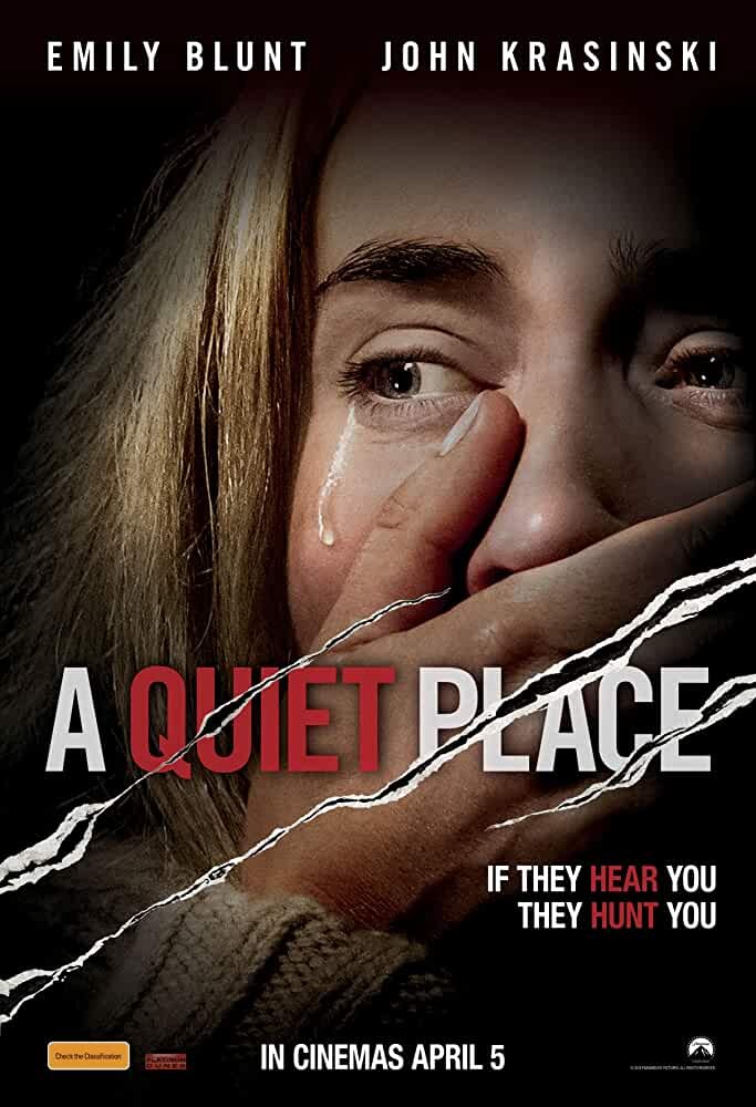 A Quiet Place (2018) 720p BluRay Dual Audio [Hindi DD5.1 + English DTS 5.1] 957MB