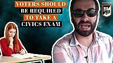 Los votantes deben estar obligados a tomar un examen de educación cívica