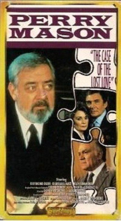 Raymond Burr, William Katt, Barbara Hale, and Robert Mandan in Perry Mason: The Case of the Lost Love (1987)