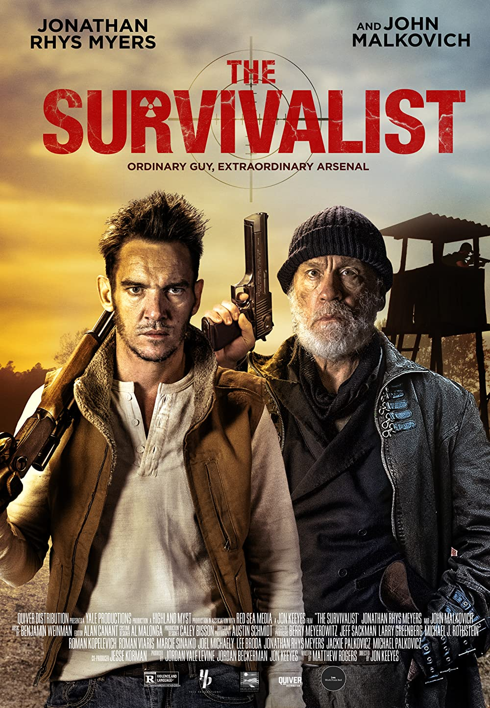 The Survivalist 2021 English 720p | 480p HDRip 800MB Download