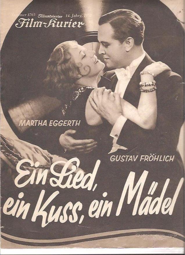 Ein Lied, ein Kuß, ein Mädel (1932)