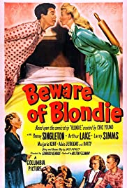 Beware of Blondie Poster