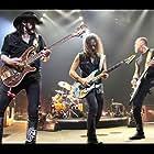 Kirk Hammett, James Hetfield, and Lemmy in Lemmy (2010)