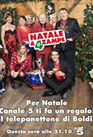 Natale a 4 zampe Poster