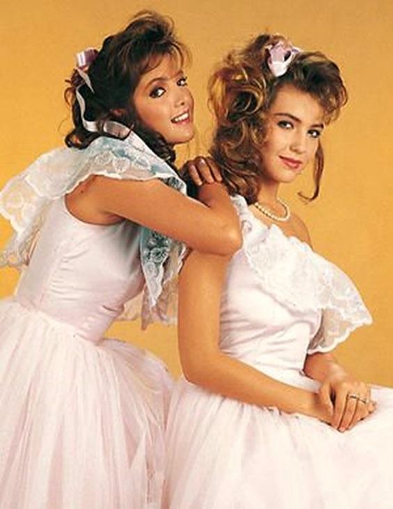 Adela Noriega and Thalía in Quinceañera (1987)