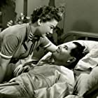 Anne Baxter and Glenn Ford in Follow the Sun (1951)