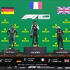 Lewis Hamilton, Sebastian Vettel, and Esteban Ocon in 2021 Hungarian Grand Prix (2021)