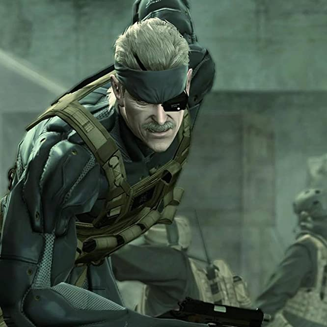 David Hayter in Metal Gear Solid 4: Guns of the Patriots (2008)