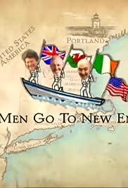 Three Men Go to New England Poster