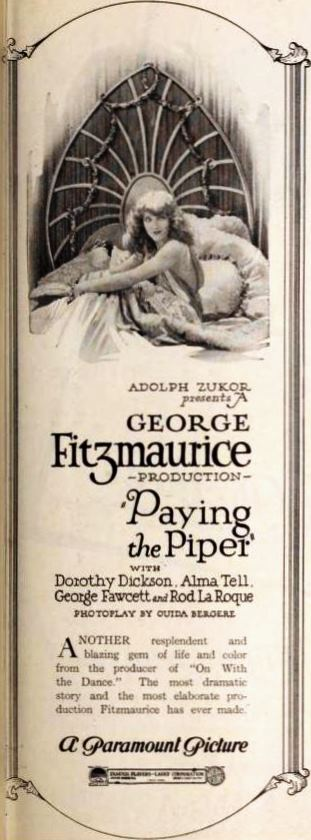 Paying the Piper (1921)