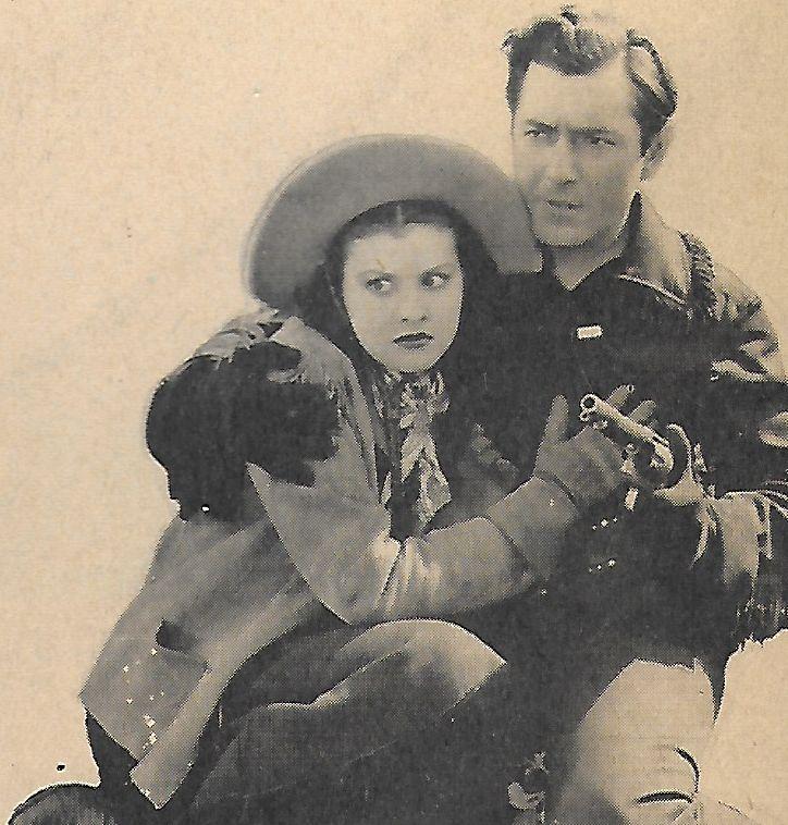Johnny Mack Brown and Eleanor Hansen in Flaming Frontiers (1938)