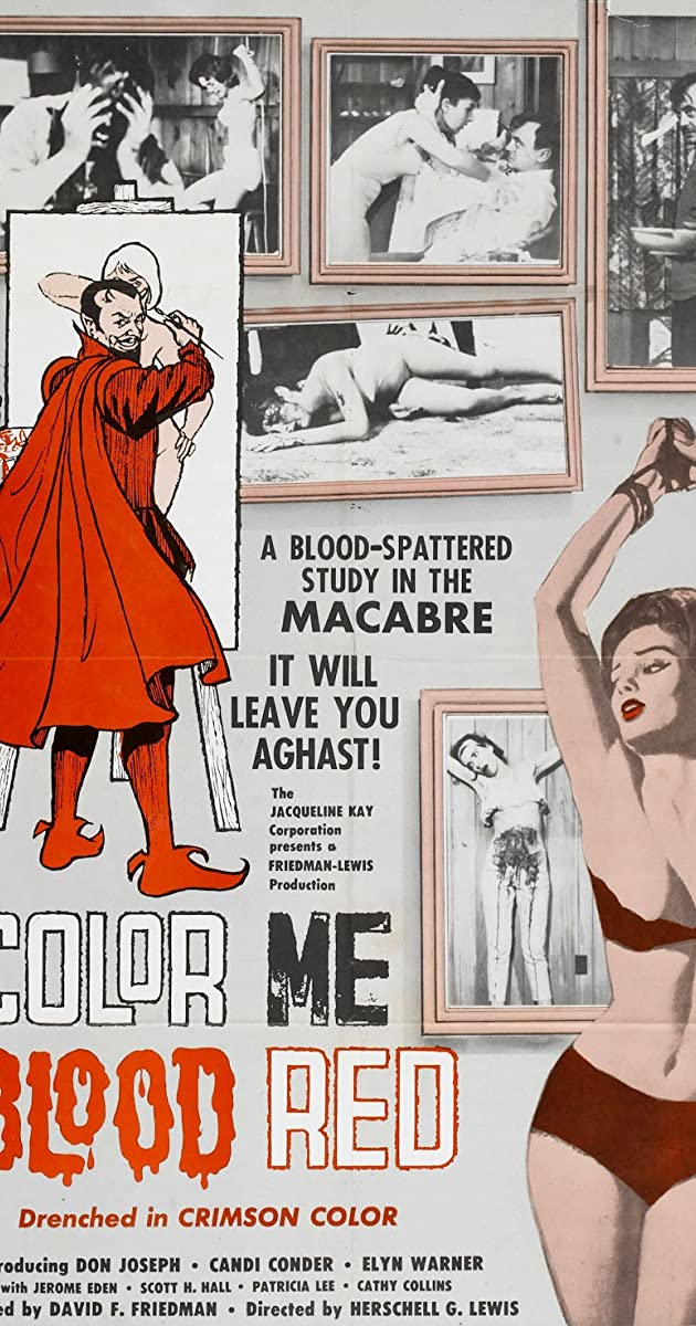 Subtitle of Color Me Blood Red