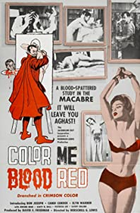 Watching movies speed up Color Me Blood Red Herschell Gordon Lewis [HD]