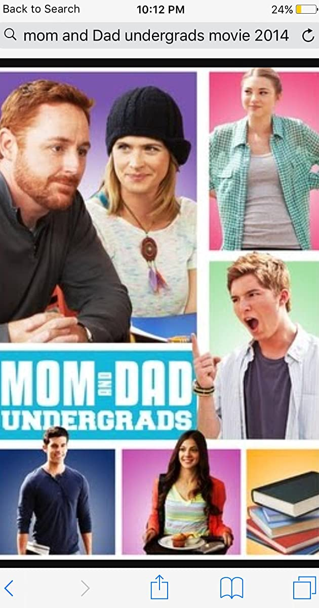 Į paskaitas su tėvais / Mom and Dad Undergrads (2014) Online