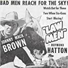 Johnny Mack Brown, Raymond Hatton, and Ted Mapes in Law Men (1944)