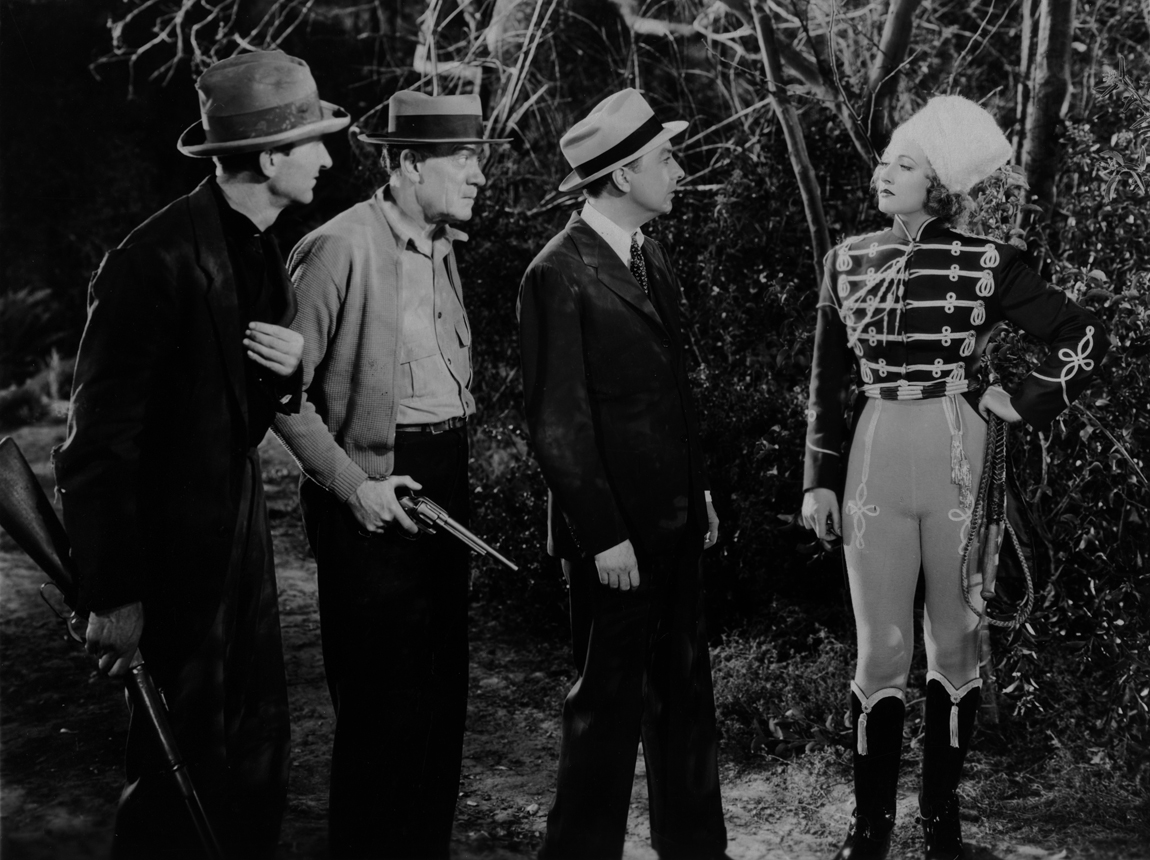 Walter Brennan, Tala Birell, Jack Haley, and Lew Kelly in Spring Tonic (1935)
