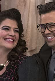 Andrew Rannells and Casey Wilson in Black Monday (2019)