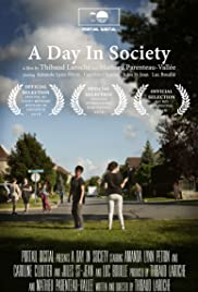 A Day In Society Poster
