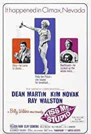 Kiss Me, Stupid (1964) Poster - Movie Forum, Cast, Reviews