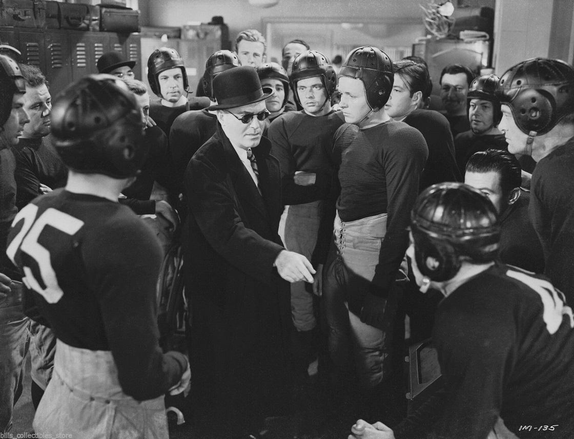 Pat O'Brien, Steve Barclay, Robert Benton, Fred Kohler Jr., Harold Landon, Larry Lund, Greg McClure, Mel Shubert, and George Tyne in The Iron Major (1943)
