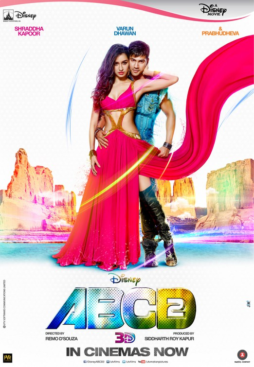 ABCD 2 2015 Hindi Movie 480p BluRay 400MB x264