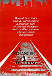 A Stranger Is Watching (1982) Poster - Movie Forum, Cast, Reviews
