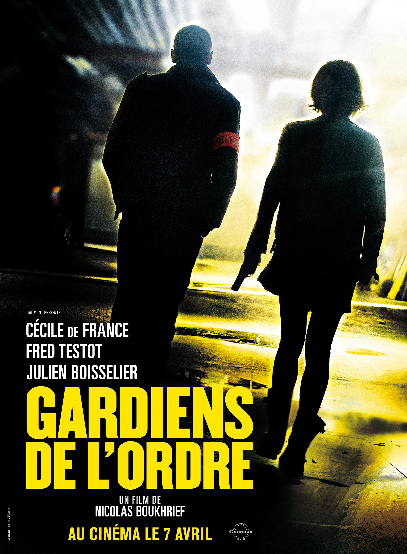 Cécile de France and Fred Testot in Gardiens de l'ordre (2010)