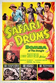 Safari Drums Poster