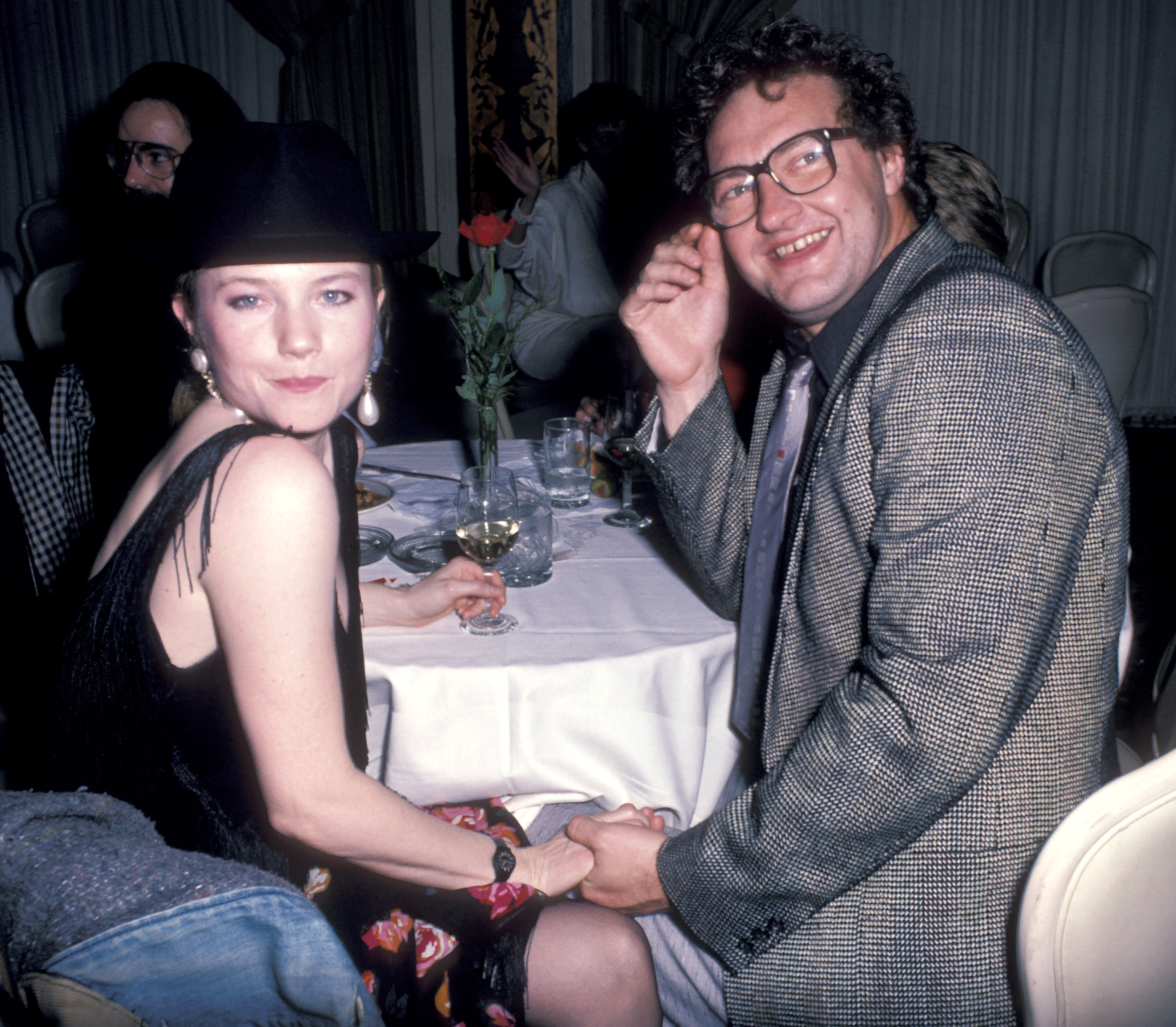 Rebecca De Mornay and Randy Quaid at an event for Fool for Love (1985)