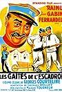 Fernandel, Jean Gabin, and Raimu in Les gaîtés de l'escadron (1932)