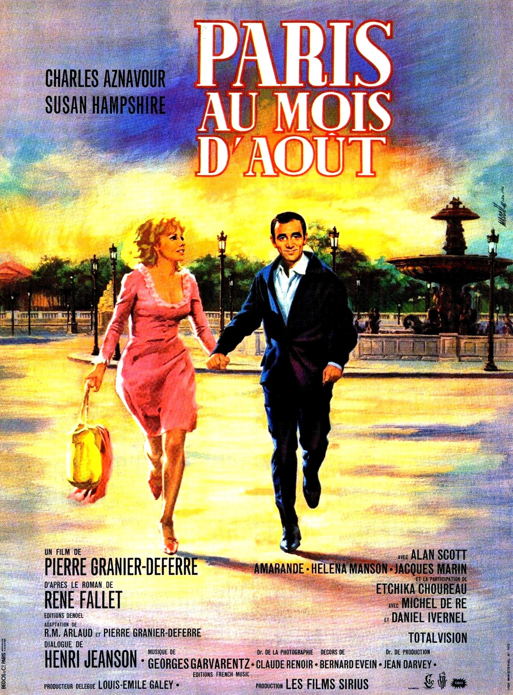 prime de noel 2018 paris Paris au mois d'août (1966)   IMDb prime de noel 2018 paris