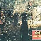Ritza Brown, Miles O'Keeffe, and Edmund Purdom in Ator l'invincibile (1982)