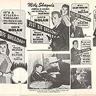 Lloyd Nolan and Marjorie Weaver in Just Off Broadway (1942)
