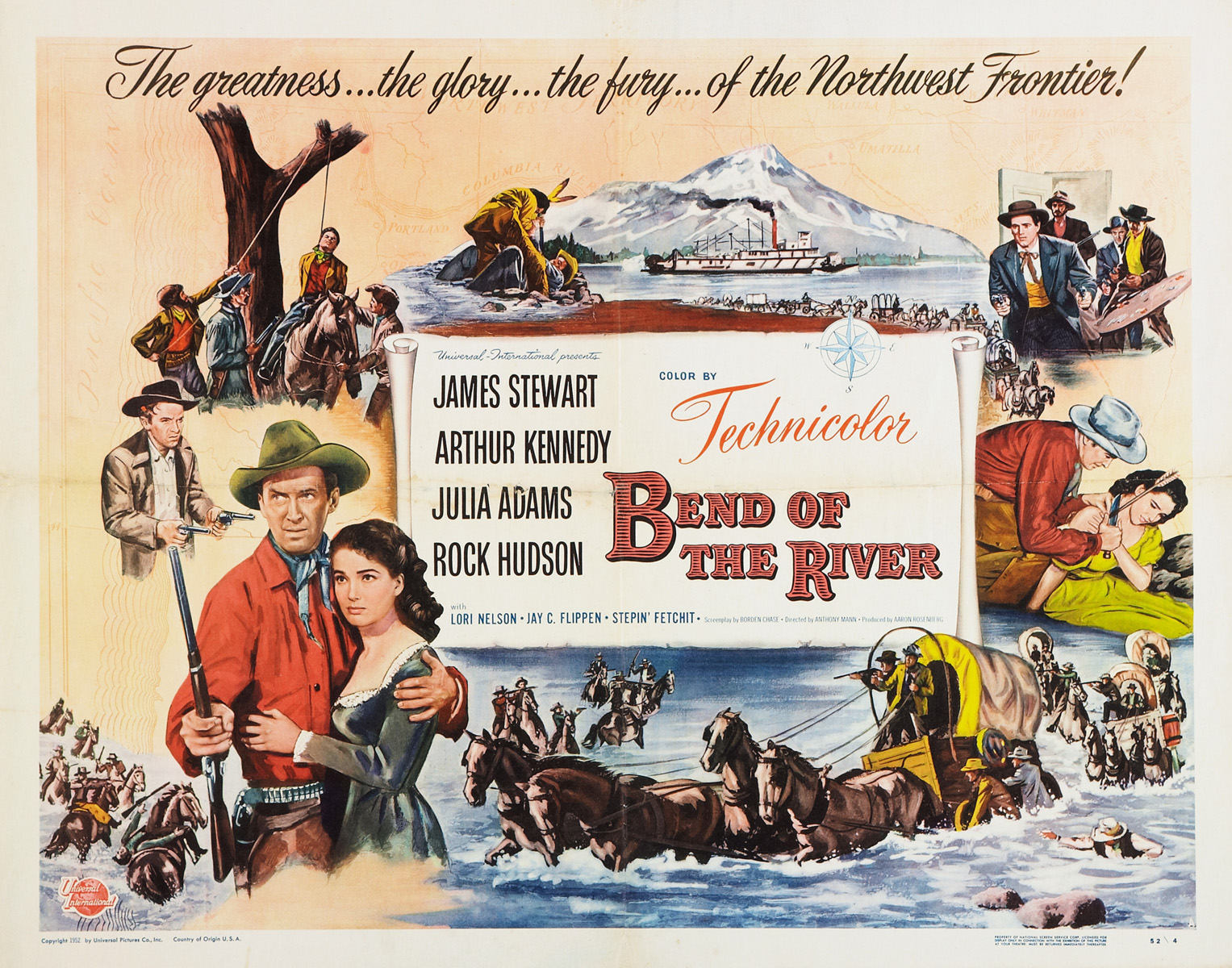 Bend of the River (1952) - Photo Gallery - IMDb