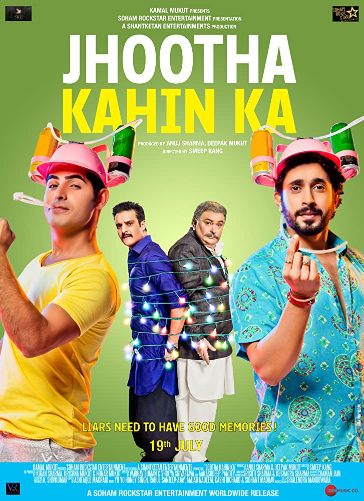 Jhootha Kahin Ka 2019 Hindi Movie 400MB Pre-DVDRip 480p