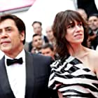 Javier Bardem and Charlotte Gainsbourg at an event for The Dead Don't Die (2019)