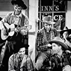 Don Brookins, Art Green, Walter Trask, Chill Wills, and The Avalon Boys in Way Out West (1937)