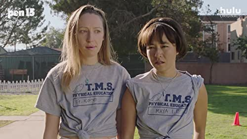 """""""Pen15"""" is an R-rated """"traumedy"""" set in middle school as it really happened in the year 2000. Anna Konkle and Maya Erskine play versions of themselves as thirteen year old outcasts, surrounded by actual thirteen year olds. In this world, seventh grade never ends and the pains of growing up are inevitable."""