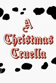 A Christmas Cruella Poster